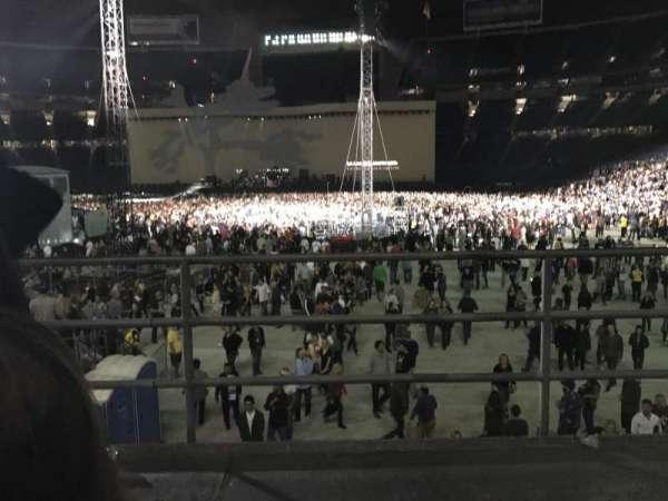 SDCCU Stadium, sección: P24, fila: 2, asiento: 11