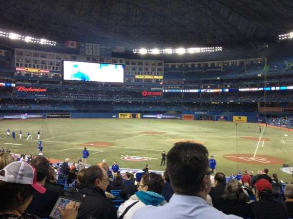 Rogers Centre, sección: 124L, fila: 32, asiento: 105