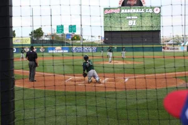 Sahlen Field, sección: 102, fila: B, asiento: 13
