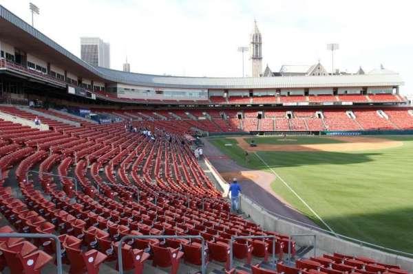 Sahlen Field, sección: 128, fila: U, asiento: 1
