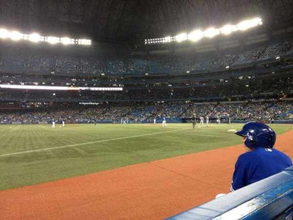 Rogers Centre, sección: 130BL, fila: 1, asiento: 103