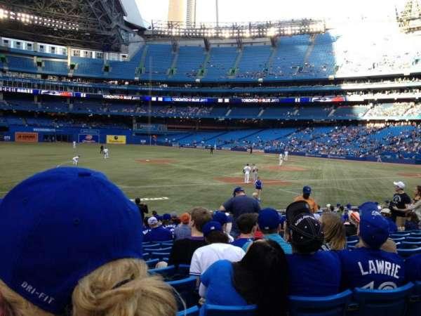 Rogers Centre, sección: 129R, fila: 20, asiento: 5