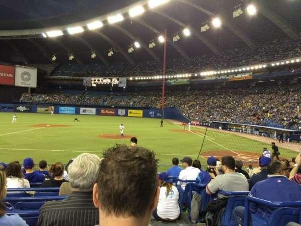Olympic Stadium, Montreal, sección: 108, fila: NN, asiento: 1