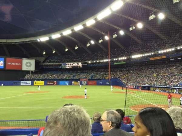 Olympic Stadium, Montreal, sección: 106, fila: KK, asiento: 10