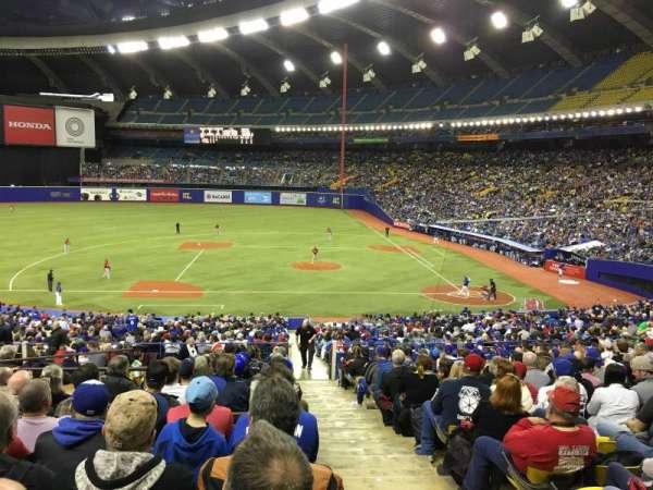 Olympic Stadium, Montreal, sección: 110, fila: T, asiento: 12