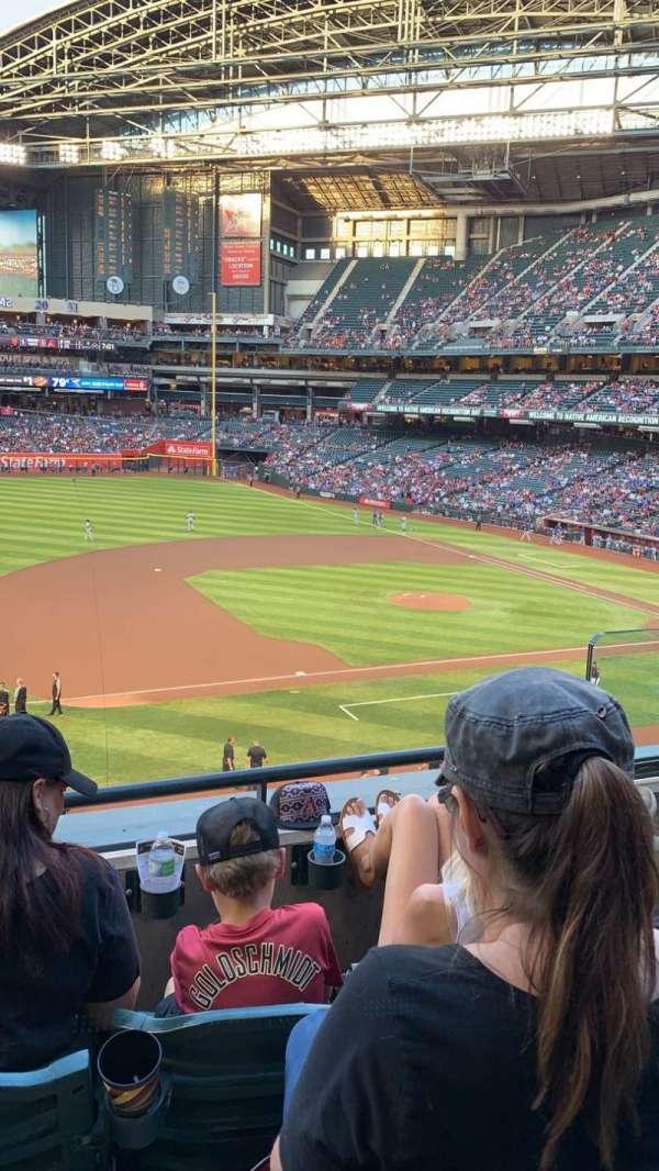 Chase Field, sección: 214, fila: 3, asiento: 4