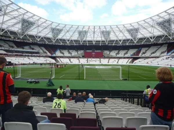 London Stadium, sección: 120, fila: 14, asiento: 45