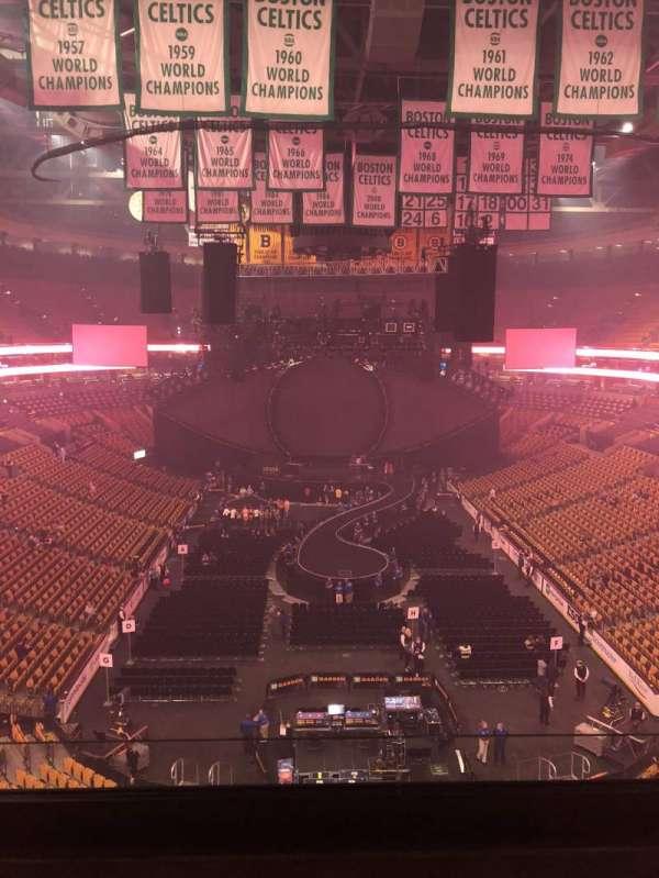 TD Garden, sección: Bal 309, fila: 3, asiento: 1