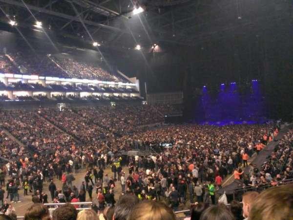 The O2 Arena, sección: 108, fila: U, asiento: 250