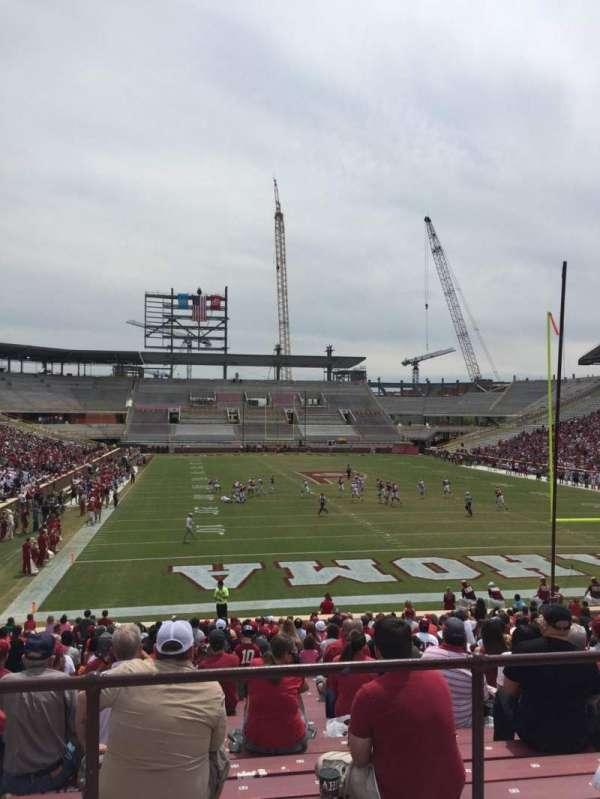 Gaylord Memorial Stadium, sección: 19, fila: 32, asiento: 30