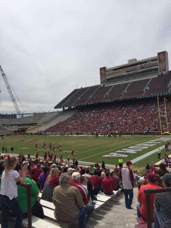 Gaylord Memorial Stadium, sección: 24, fila: 31, asiento: 1