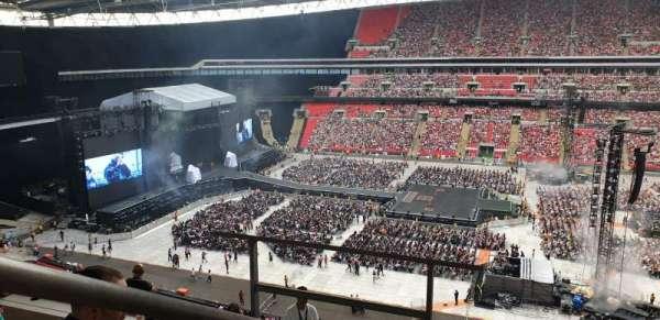 Wembley Stadium, sección: 526, fila: 10, asiento: 375
