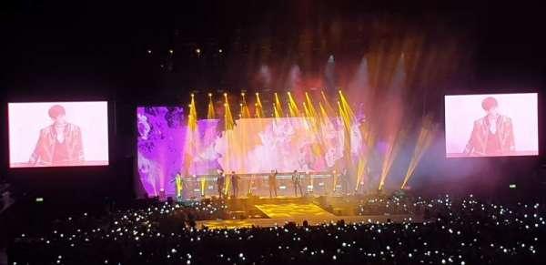 SSE Arena, Wembley, sección: E3, fila: K, asiento: 73