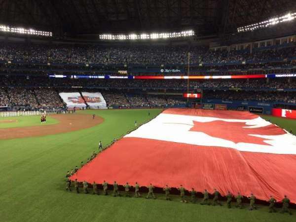 Rogers Centre, sección: 209L, fila: 1, asiento: 102