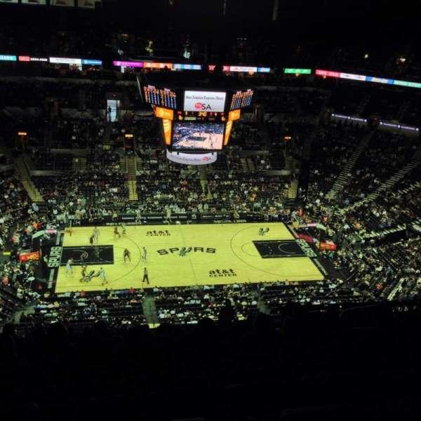 AT&T Center, sección: 225, fila: 19, asiento: 3