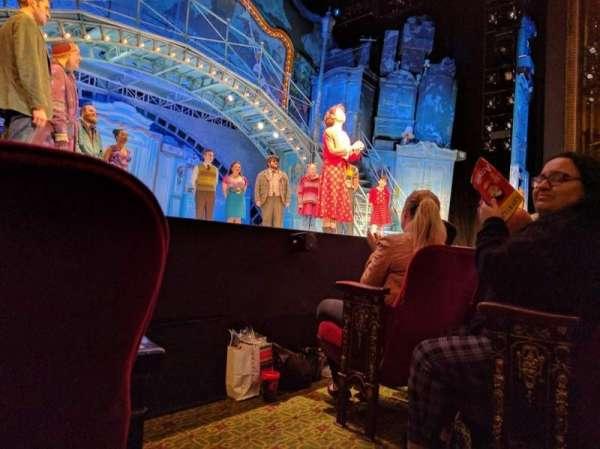 Walter Kerr Theatre, sección: ORCHL, fila: C, asiento: 1
