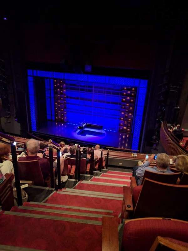 Stephen Sondheim Theatre, sección: Mezzanine, fila: HH, asiento: 2