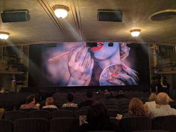 Nederlander Theatre, sección: Orchestra, fila: Q, asiento: 112