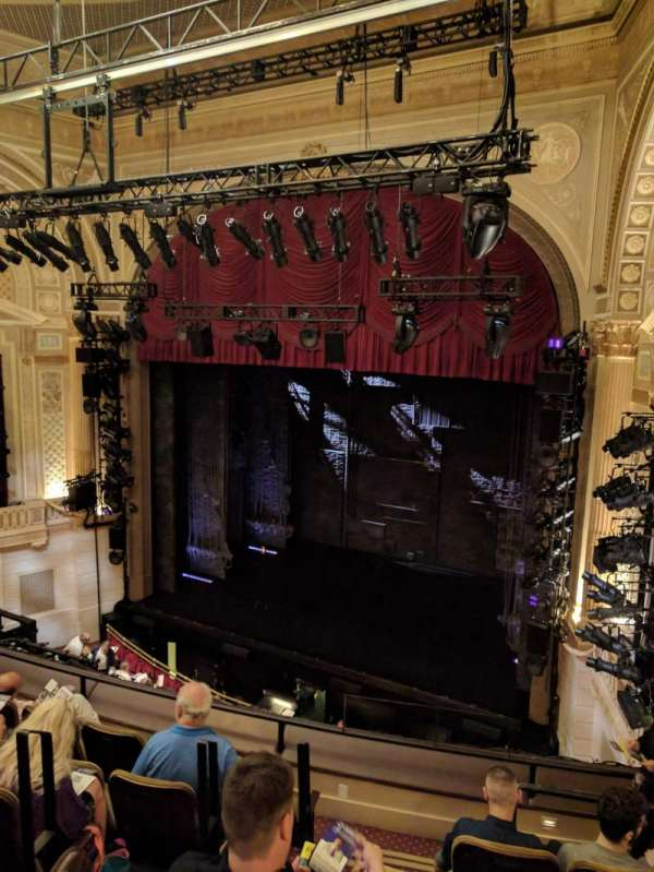 Samuel J. Friedman Theatre, sección: Mezzanine R, fila: D, asiento: 6