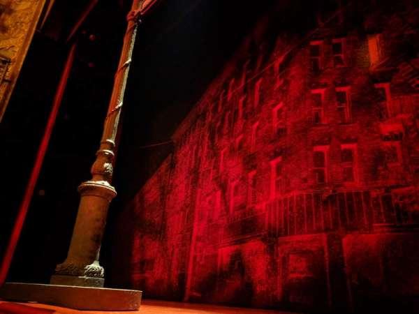 Longacre Theatre, sección: ORCHC, fila: AA, asiento: 101