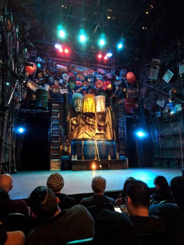 Orpheum Theater (New York), sección: Orchestra, fila: D, asiento: 11