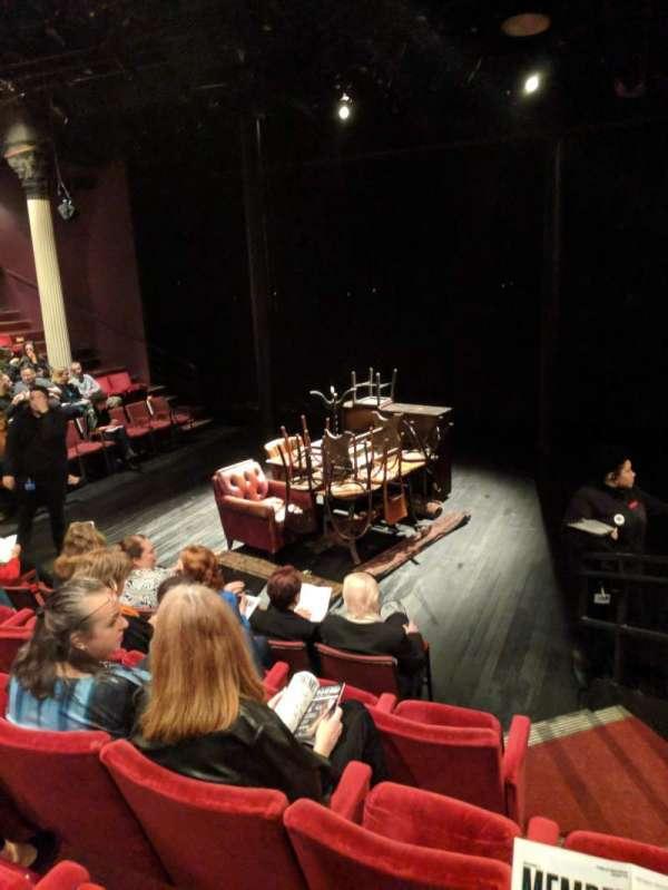 The Anspacher Theater at the Public Theater, sección: Center Section, fila: E, asiento: 104