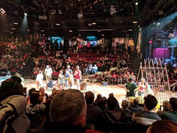 Circle in the Square Theatre, sección: ORCH, fila: F, asiento: 244