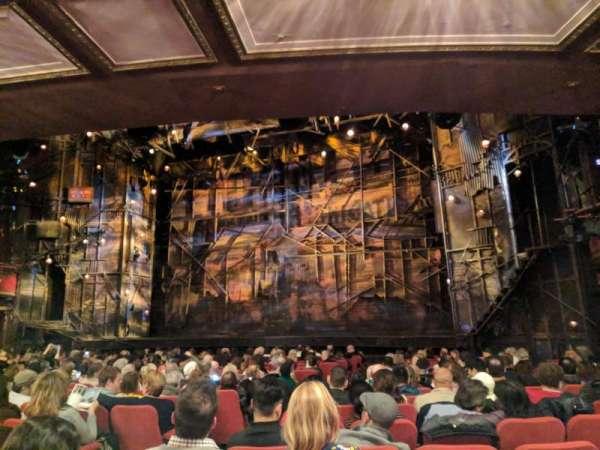 Broadway Theatre - 53rd Street, sección: ORCHO, fila: R, asiento: 5