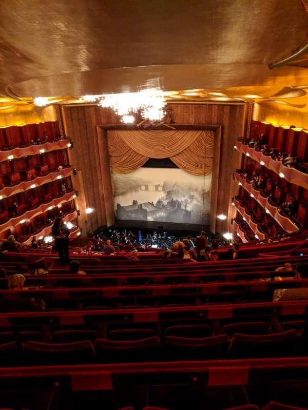 Metropolitan Opera House - Lincoln Center, sección: Family Circle, fila: J, asiento: 212