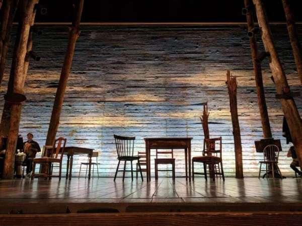 Gerald Schoenfeld Theatre, sección: ORCHC, fila: AA, asiento: 108