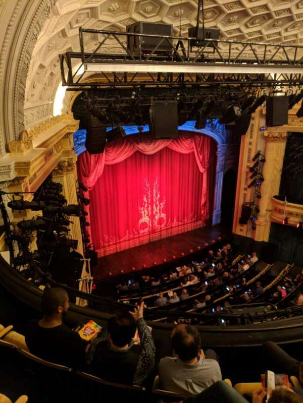 Hudson Theatre, sección: Balcony, fila: D, asiento: 15