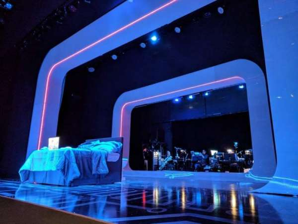 The Irene Diamond Stage at The Pershing Square Signature Center, sección: Orchestra, fila: A, asiento: 118