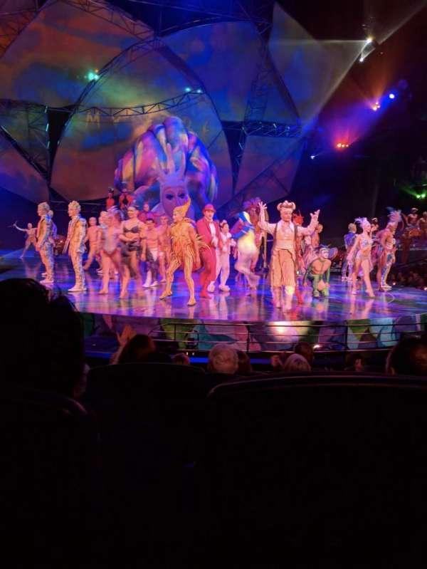 Mystère Theatre at Treasure Island, sección: 103, fila: E, asiento: 10