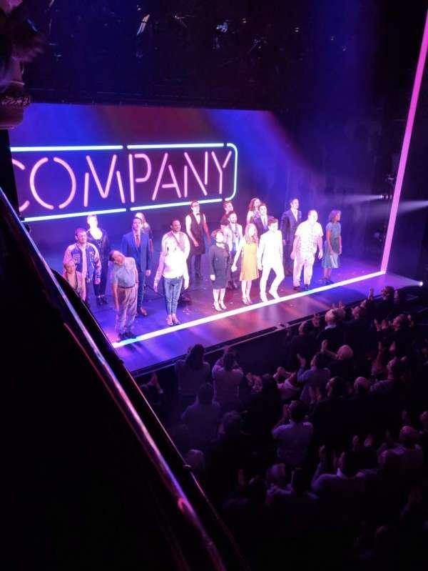 Gielgud Theatre, sección: Dress Circle, fila: A, asiento: 31