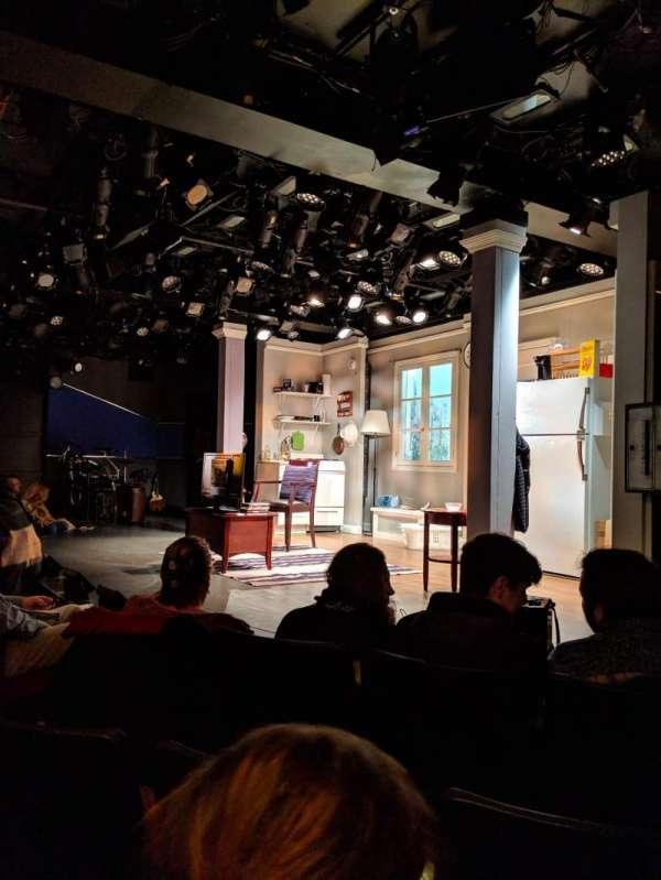 Westside Theatre, sección: ORCH, fila: C, asiento: 14