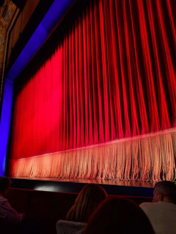 Longacre Theatre, sección: ORCHO, fila: C, asiento: 5