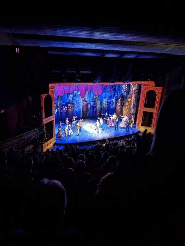 Marquis Theatre, sección: Mezzanine L, fila: L, asiento: 19