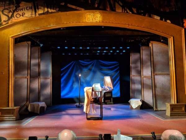 York Theatre, sección: Orchestra, fila: C, asiento: 7