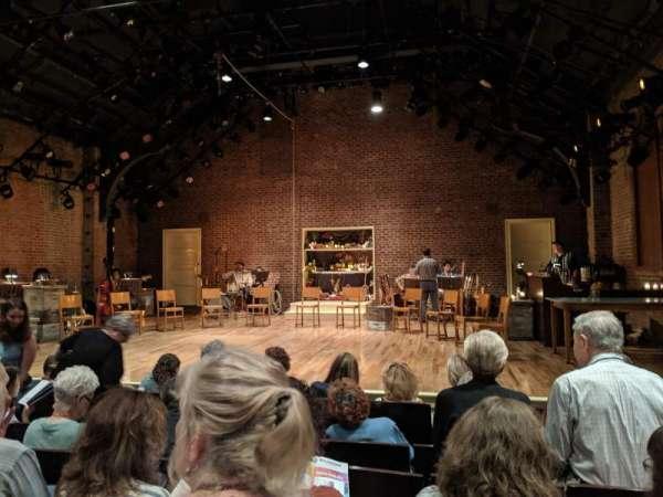 Linda Gross Theater, fila: F, asiento: 4