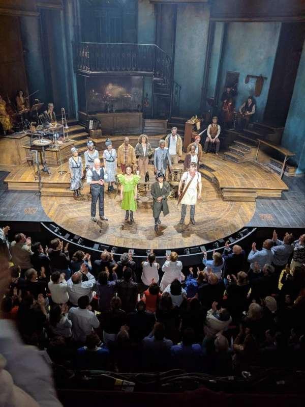 Walter Kerr Theatre, sección: Mezzanine C, fila: B, asiento: 108