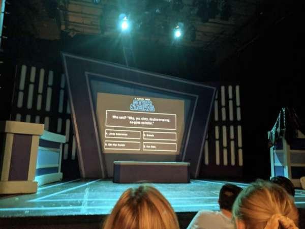 Kirk Theatre, sección: ORCH, fila: C, asiento: 8