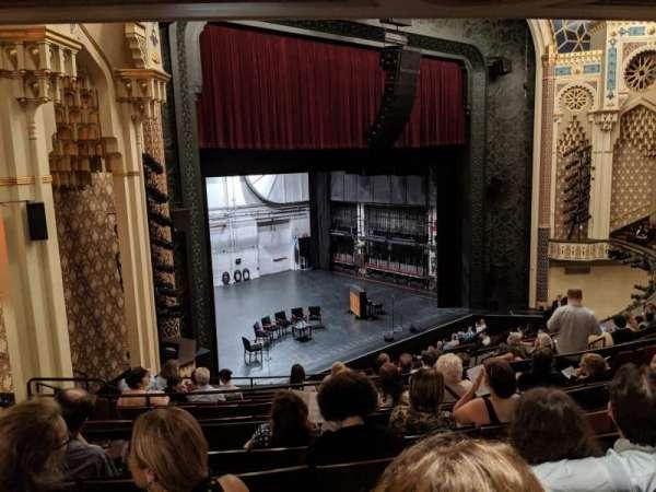 New York City Center, sección: Mezzanine, fila: J, asiento: 7