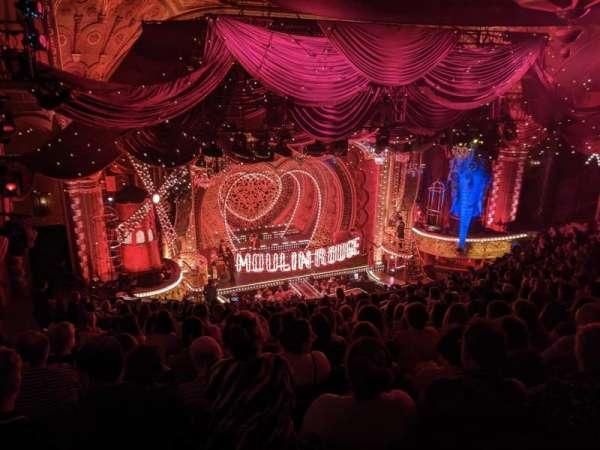 Al Hirschfeld Theatre, sección: Mezzanine L, fila: R, asiento: 19