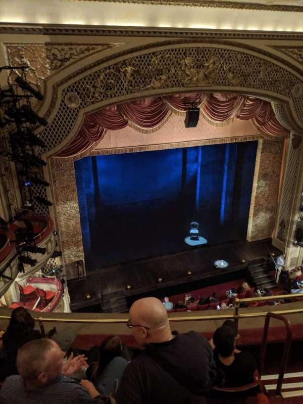 Cort Theatre, sección: Balcony L, fila: D, asiento: 7