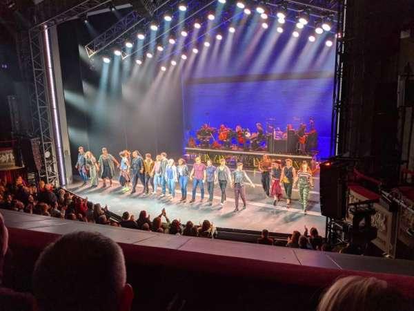 Broadhurst Theatre, sección: Mezzanine R, fila: A, asiento: 18