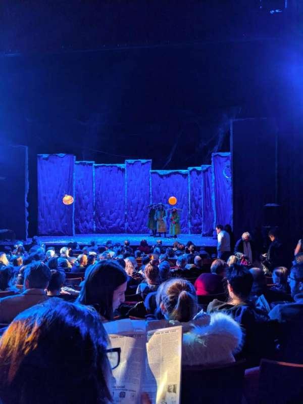 Stephen Sondheim Theatre, sección: Orchestra C, fila: M, asiento: 105