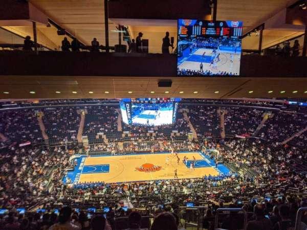 Madison Square Garden, sección: 210, fila: 16, asiento: 1