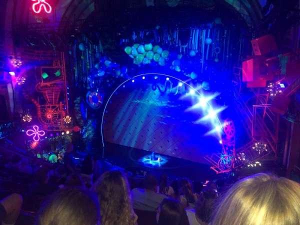 Palace Theatre (Broadway) , sección: Rear Mezz, fila: J, asiento: 6