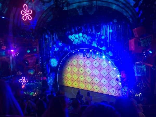 Palace Theatre (Broadway), sección: Rear Mezz, fila: J, asiento: 6
