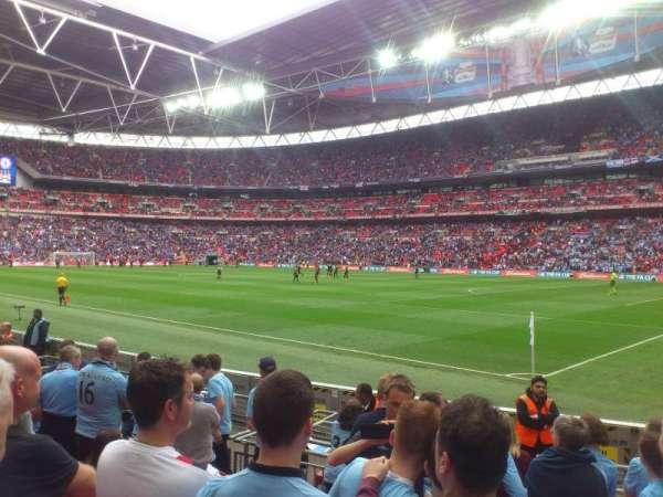 Wembley Stadium, sección: 140, fila: 8